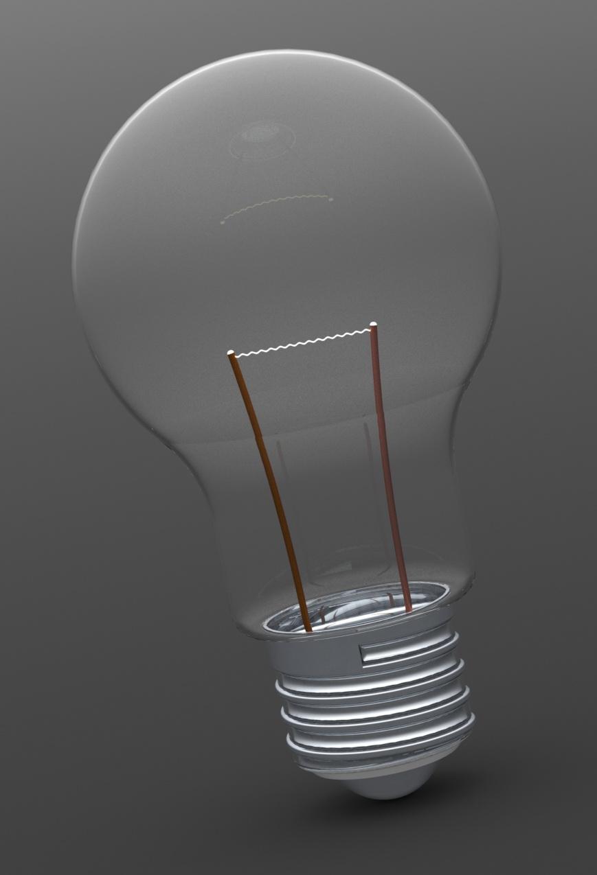 طراحی لامپ در نرم افزار سالید ورک