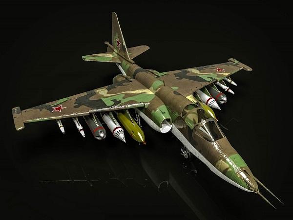 شبیه سازی جنگنده   SU-25