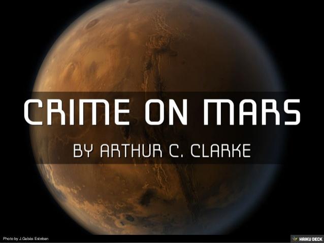 جرم بر روی مریخ
