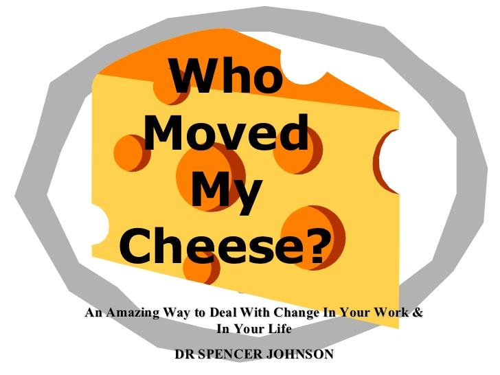 چه کسی پنیر مرا برداشته؟